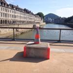 Jouffroy d'Abbans vandalisé : le FRAC prête l'une de ses œuvres phares pour le remplacer