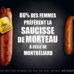 La dernière publicité pour la saucisse de Morteau agace les associations masculinistes