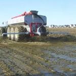 Les boues des stations d'épuration haute-saônoises bientôt épandues autour des voies du tramway bisontin