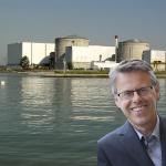 L'ancien député écologiste Éric Alauzet pense que « finalement, la centrale nucléaire de Fessenheim fait très bien dans le paysage»