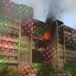 Besançon : des scientifiques mettent le feu à un immeuble en tentant de réaliser une animation lumineuse de Noël à l'aide d'un laser photonique