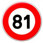 Assouplissement des 80km/h: le Jura testera les 81 km/h à partir du 1er mars prochain