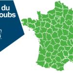 Le gouvernement publie la carte quotidienne «accent du Haut-Doubs» : toujours aucune amélioration